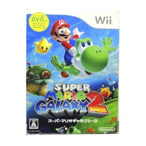Jogo Super Mario Galaxy 2 - Wii (Japonês)