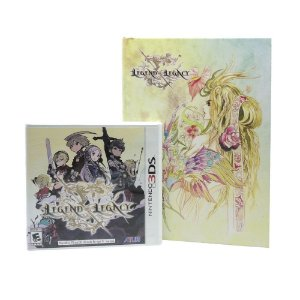 Jogo The Legend of Legacy + Art Book (Launch Edition) - 3DS