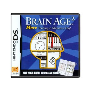 Jogo Brain Age²: More Training in Minutes a Day! - DS