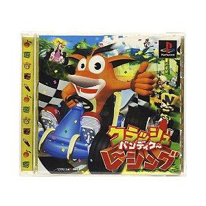 Jogo Crash Bandicoot Racing - PS1 (Japonês)