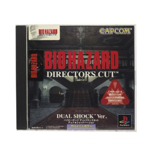 Jogo Biohazard Director's Cut - PS1 (Japonês)