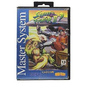 Jogo Street Fighter II: Champion Edition - Master System