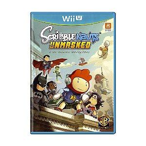 Jogo Scribblenauts Unmasked: A DC Comics Adventure - Wii U