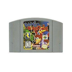 Jogo Banjo Kazooie - N64