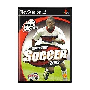 Jogo World Tour Soccer 2003 - PS2