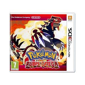 Jogo Pokémon Omega Ruby - 3DS (Europeu)