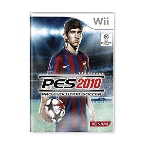 Jogo Pro Evolution Soccer 2010 - Wii