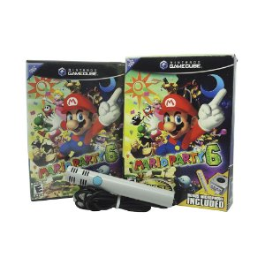 Jogo Mario Party 6 (Com Microfone) - GameCube