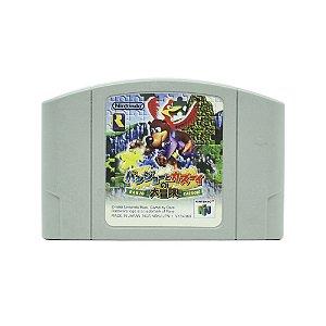 Jogo Banjo Kazooie - N64 (Japonês)