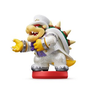 Nintendo Amiibo: Bowser - Super Mario Odyssey - Wii U, New Nintendo 3DS e Switch