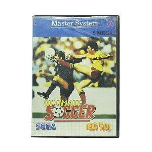 Jogo Ultimate Soccer - Master System