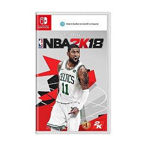 Jogo NBA 2K18 - Switch