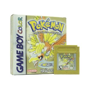 Jogo Pokémon Versão Gold - GBC