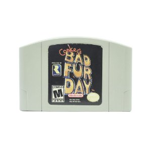 Jogo Conker's Bad Fur Day - N64