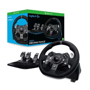 Volante Logitech Driving Force G920 - Xbox One e PC