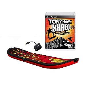 Jogo Tony Hawk: Shred (Skate Bundle) - PS3