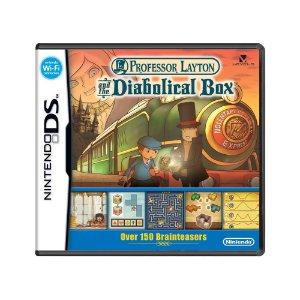 Jogo Professor Layton and the Diabolical Box - DS
