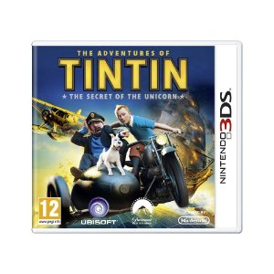 Jogo The Adventures of Tintin: The Secret of the Unicorn - 3DS (Europeu)
