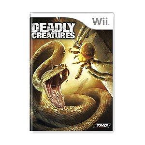 Jogo Deadly Creatures - Wii