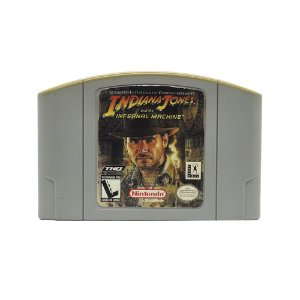 Jogo Indiana Jones and the Infernal Machine - N64