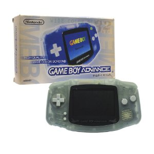 Console Game Boy Advance Azul transparente - Nintendo