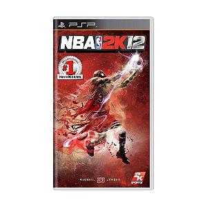Jogo NBA 2K12 - PSP