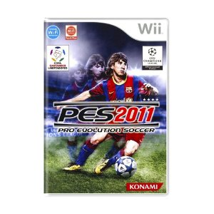 Jogo Pro Evolution Soccer 2011 (PES 11) - Wii