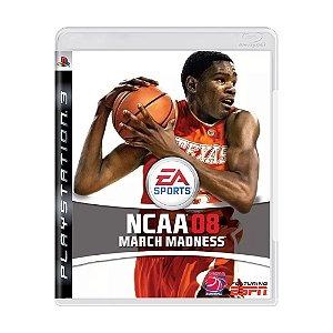 Jogo NCAA 08 Madness - PS3