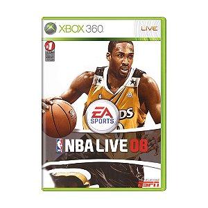 Jogo NBA Live 08 - Xbox 360