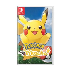 Jogo Pokémon: Let's Go, Pikachu! - Switch