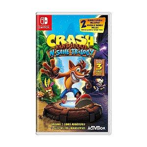 Jogo Crash Bandicoot N. Sane Trilogy - Switch