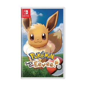 Jogo Pokémon: Let's Go, Eevee! - Switch