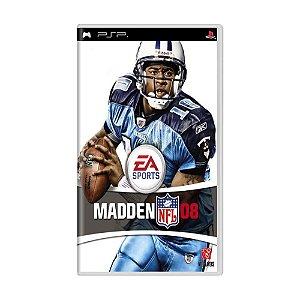 Jogo Madden NFL 08 - PSP