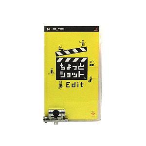 Jogo Chotto Shot Edit + Câmera - PSP