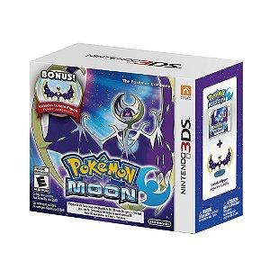 Jogo Pokémon Moon + Miniatura Lunala - 3DS