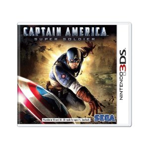 Jogo Captain America: Super Soldier - 3DS