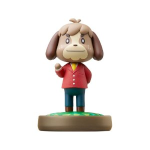 Nintendo Amiibo: Digby - Animal Crossing - Wii U, New Nintendo 3DS e Switch