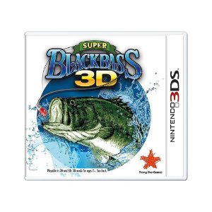 Jogo Super Black Bass 3D - 3DS