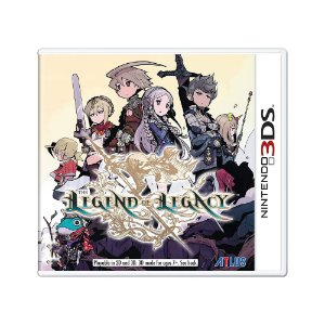 Jogo The Legend of Legacy - 3DS