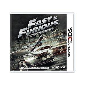 Jogo Fast & Furious: Showdown - 3DS
