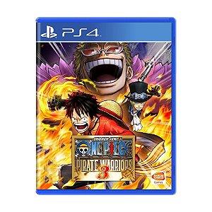 Jogo One Piece: Pirate Warriors 3 - PS4