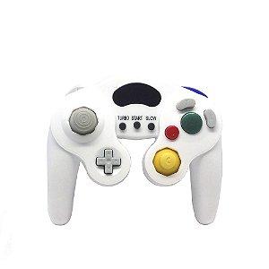 Controle Paralelo GameCube Branco com fio - Wii e GameCube