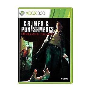Jogo Sherlock Holmes: Crimes & Punishments - Xbox 360