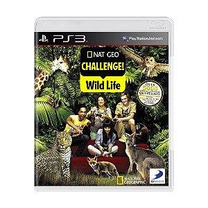 Jogo Nat Geo Challenge! Wild Life - PS3