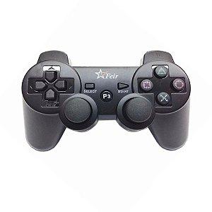 Controle Feir Preto Sem Fio - PS3