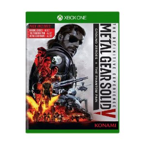 Jogo Metal Gear Solid V (The Definitive Experience) - Xbox One