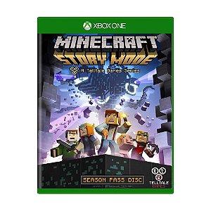 Jogo Minecraft: Story Mode (Season Pass) - Xbox One