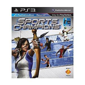 Jogo Sports Champions - PS3 (Capa Dura)