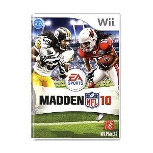 Jogo Madden NFL 10 - Wii