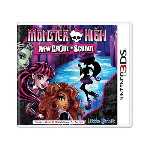Jogo Monster High: New Ghoul in School - 3DS